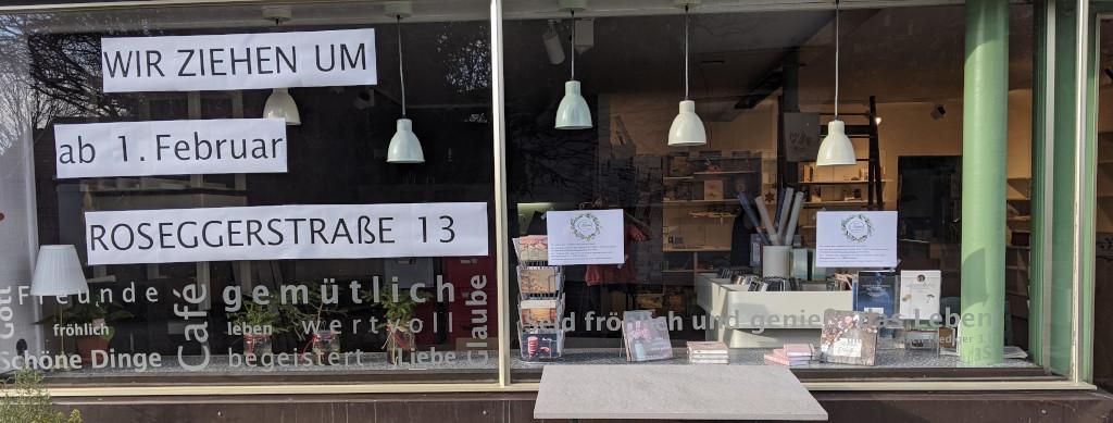Schaufenster Manna BuchCafe